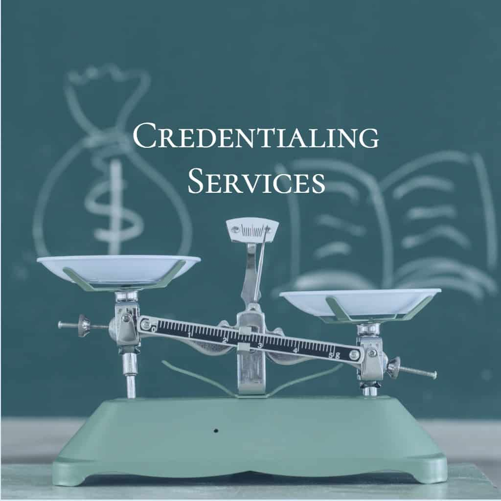 Insurance Credentialing, Contracting & Provider Enrollment Services